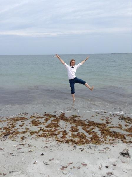 Me in the ocean.